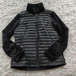 32 Degrees Black Down Puffer & Fleece Jacket M